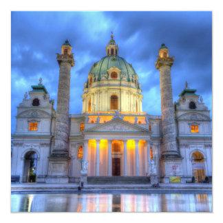 Carte L'église de Charles de saint à Vienne, Autriche