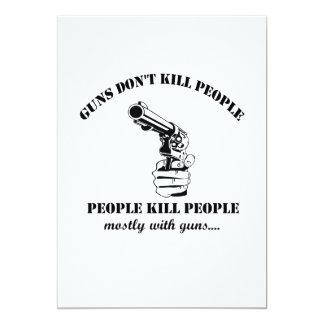 Carte Les armes à feu ne tuent pas des personnes