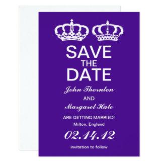 Carte Les couples royaux pourpres font gagner la date