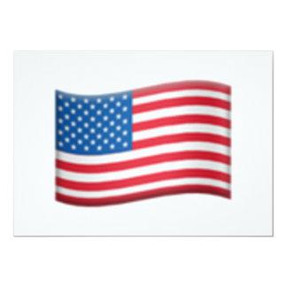 Carte Les Etats-Unis marquent - Emoji