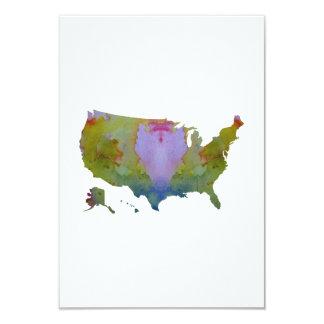 Carte Les Etats-Unis silhouettent