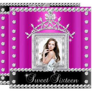 Carte Les roses indien du bonbon 16 à sweet sixteen