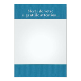 Carte Lettre Remerciements Original Nours Collection
