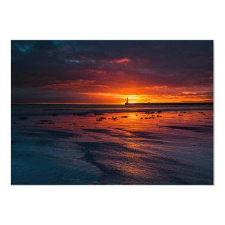 Carte Lever de soleil à l'invitation de Roker