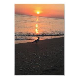 Carte Lever de soleil de plage