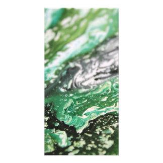 Carte Lignes grises vertes blanches noires
