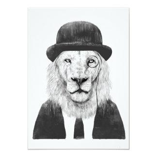 Carte Lion de monsieur
