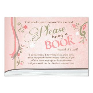 Carte Livre de contes amènent à un livre la fille