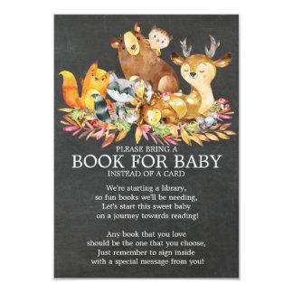 Carte Livre neutre de baby shower d'animaux de région
