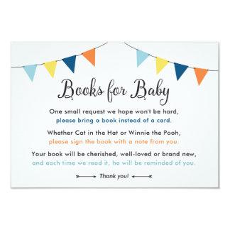 Carte Livres pour le bébé : Insertion de douche (garçon)
