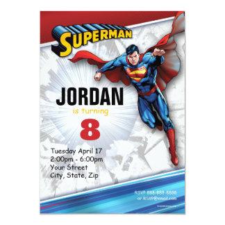 Carte Logo classique des bandes dessinées | Superman |