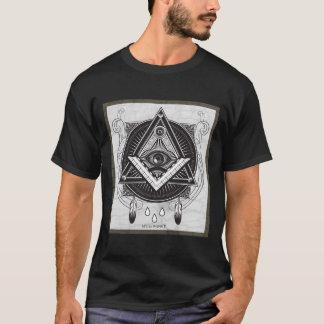 carte maçonnique t-shirt