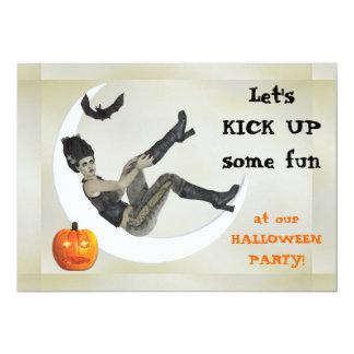 Carte Maman de mauvais goût Halloween Party de