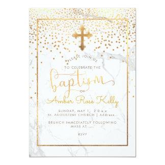 Carte Marbre de PixDezines+Confettis/baptême d'or de
