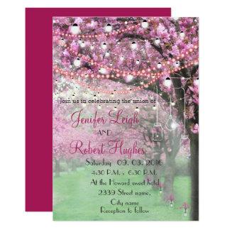 Carte Mariage de ressort de fleurs de cerisier