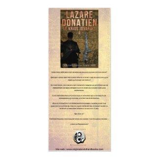 Marque Page Lazare 4