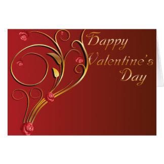 Carte masculine de Valentine