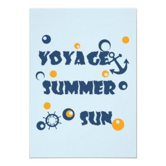 Carte Mer, voyage, été