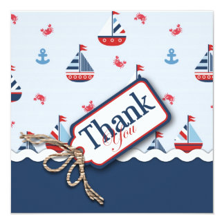 Carte Merci nautique de voiliers