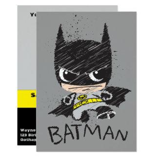 Carte Mini croquis classique de Batman