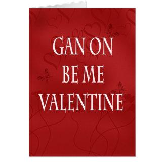 Carte moderne de Geordie Valentine -