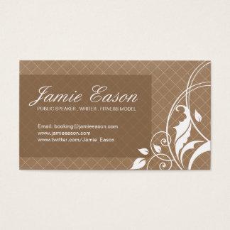 Carte moderne de profil - Jamie Eason