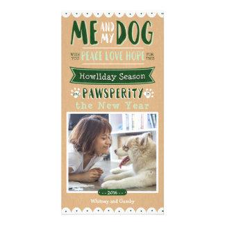 Carte Moi et mon chien 4x8 Photocard