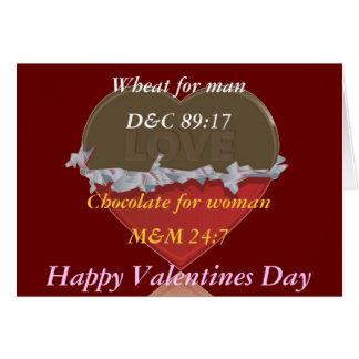 Carte mormone de Valentines