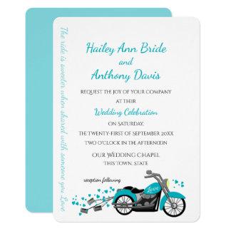 Carte Moto et coeurs épousant l'Aqua