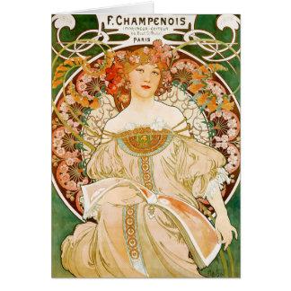 Carte : Mucha - Champenois