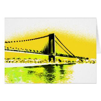 Carte mûre de pont de jaunes