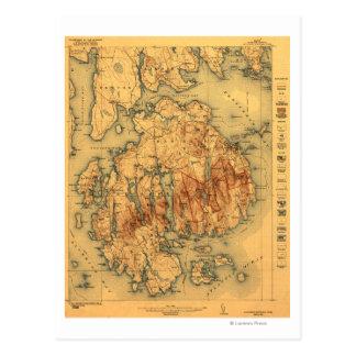 Carte nationale de Lafayette ParkPanoramic