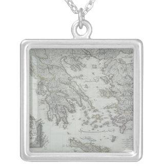 Carte nautique collier
