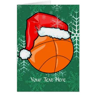 Carte - Noël de basket-ball