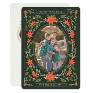 Carte Noël de photo de livre de contes 2
