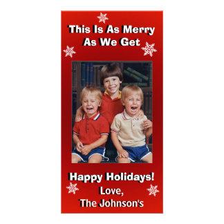 Carte Noël personnalisé drôle