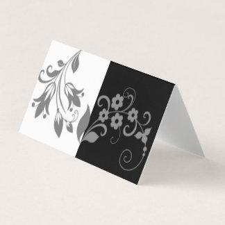 Carte Noir et blanc