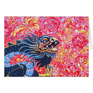Carte noire de dragon