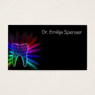 Carte noire du Général Dentist Rainbow Color Tooth