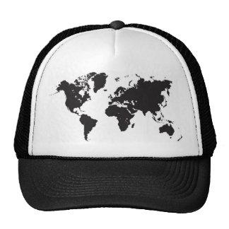 carte noire du monde casquette trucker