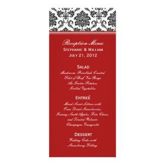 Carte noire et blanche de support de menu de maria carte double en  couleur