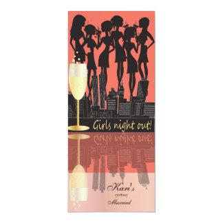Carte Nuit de filles, partie sur la ville - pêche de