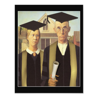 Carte Obtention du diplôme gothique américaine