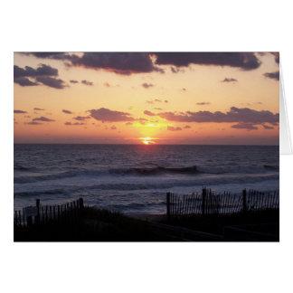 Carte-OBX Sunrise-295 Carte De Vœux
