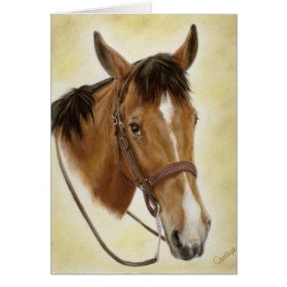 Carte occidentale de cheval
