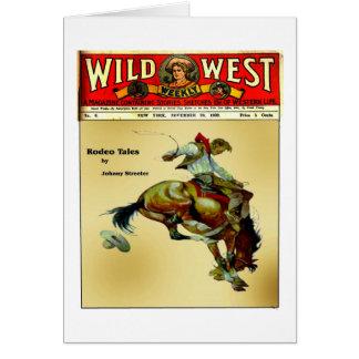 Carte occidentale sauvage faite sur commande de