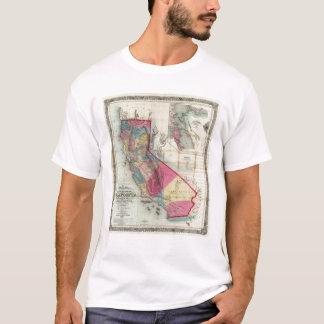 Carte officielle de l'état de la Californie T-shirt