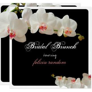 Carte Orchidées de PixDezines/arrière - plan nuptiale du