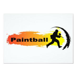 Carte Paintball unique
