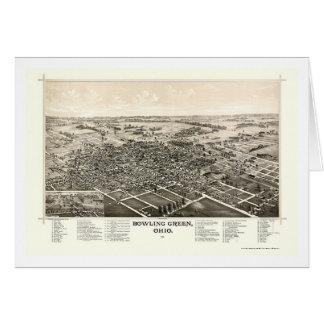 Carte panoramique de Bowling Green, OH - 1888